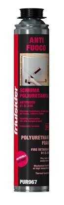 Schiuma Poliuretanica Anti fuoco per pistola EI 240