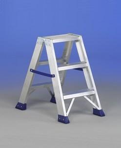 Colombo leonardo scaletta gradini alluminio silver scale